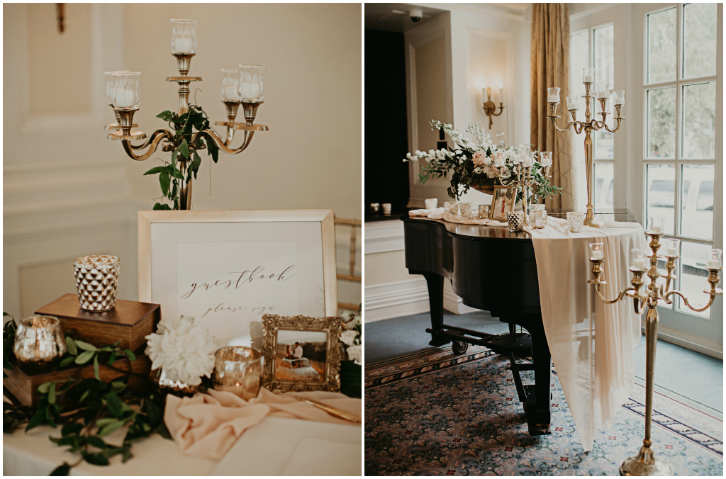 The Fairmont Hotel Macdonald Empire Ballroom Wedding