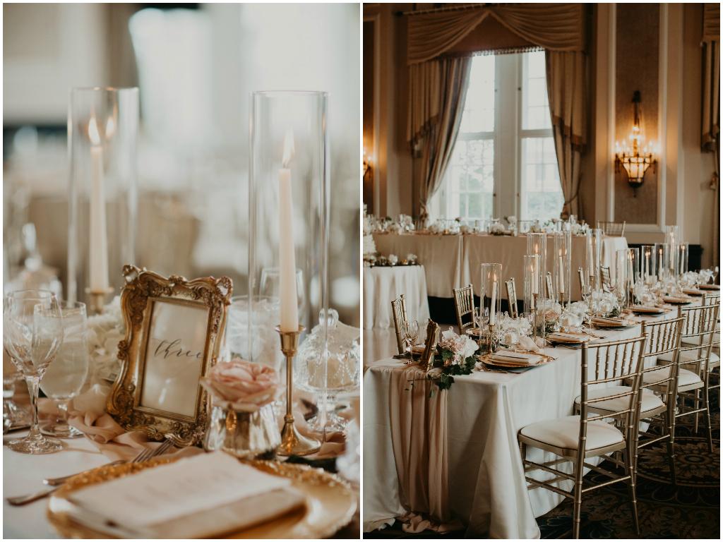 Elegant Ballroom Reception Edmonton