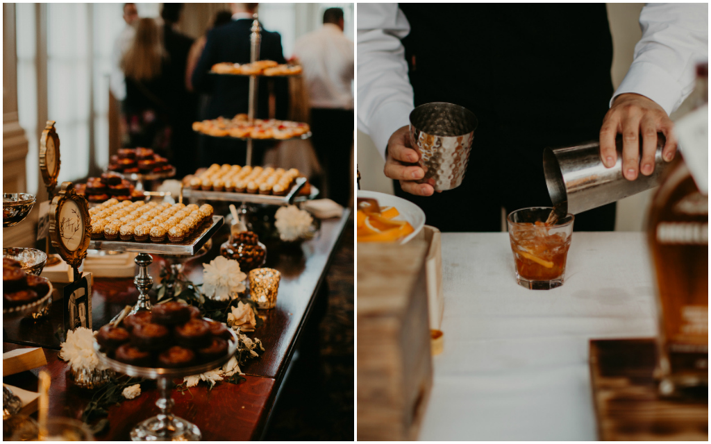 Edmonton Wedding Cigar + Bourbon Bar