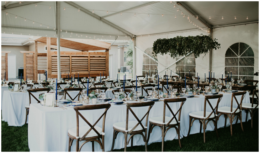 Special Event Rentals Edmonton Tent Wedding