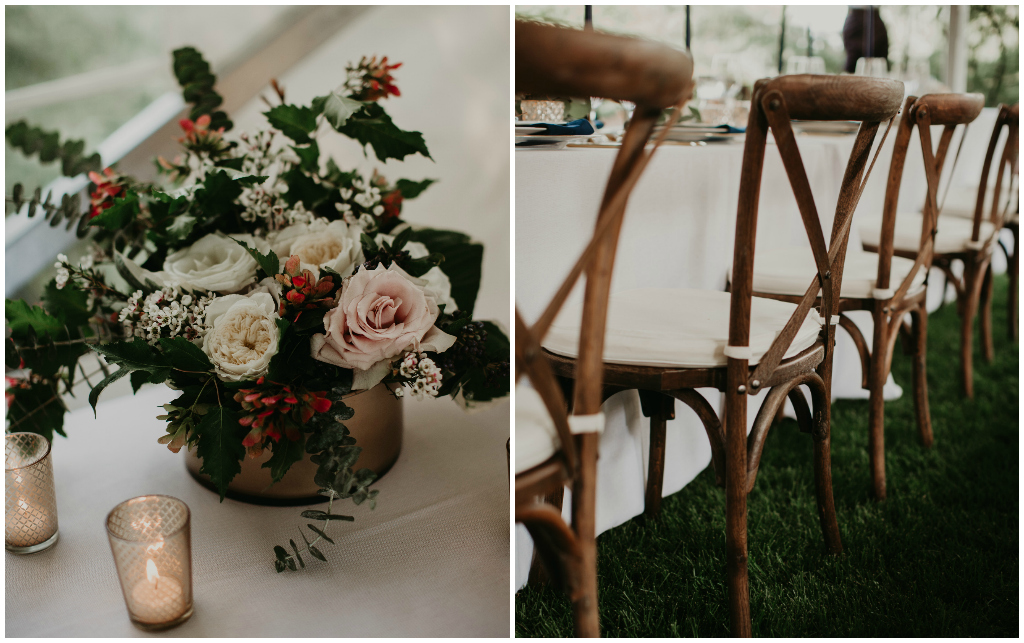 Outdoor Edmonton Tent Wedding, Fabloomosity