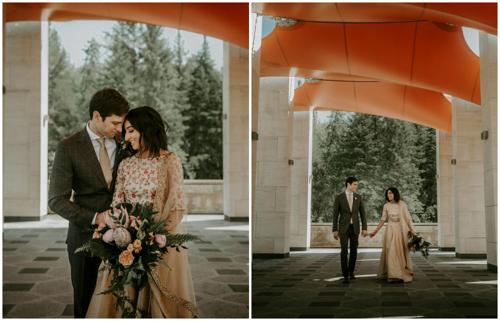 University of Alberta Botanic Garden Wedding Ceremony