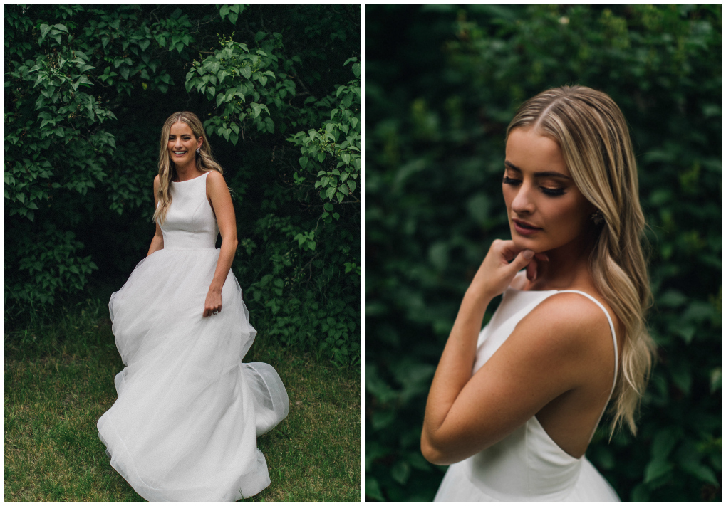 Classic Bridal Look, Behind the Blush