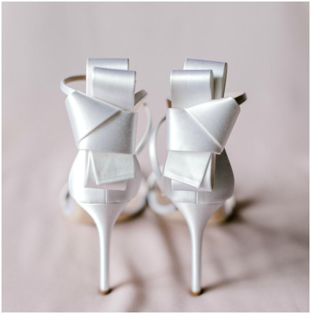 Jasper Wedding Planner, Classic White Bridal Heels