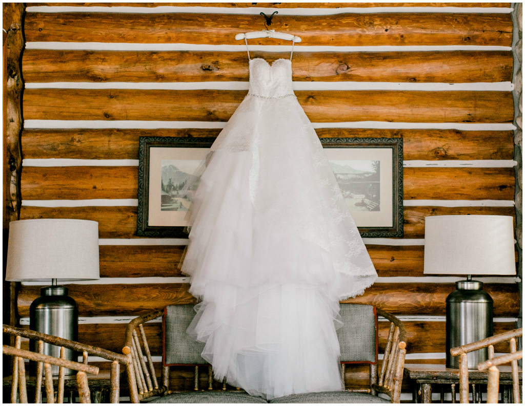 Jasper Park Lodge Spring Wedding