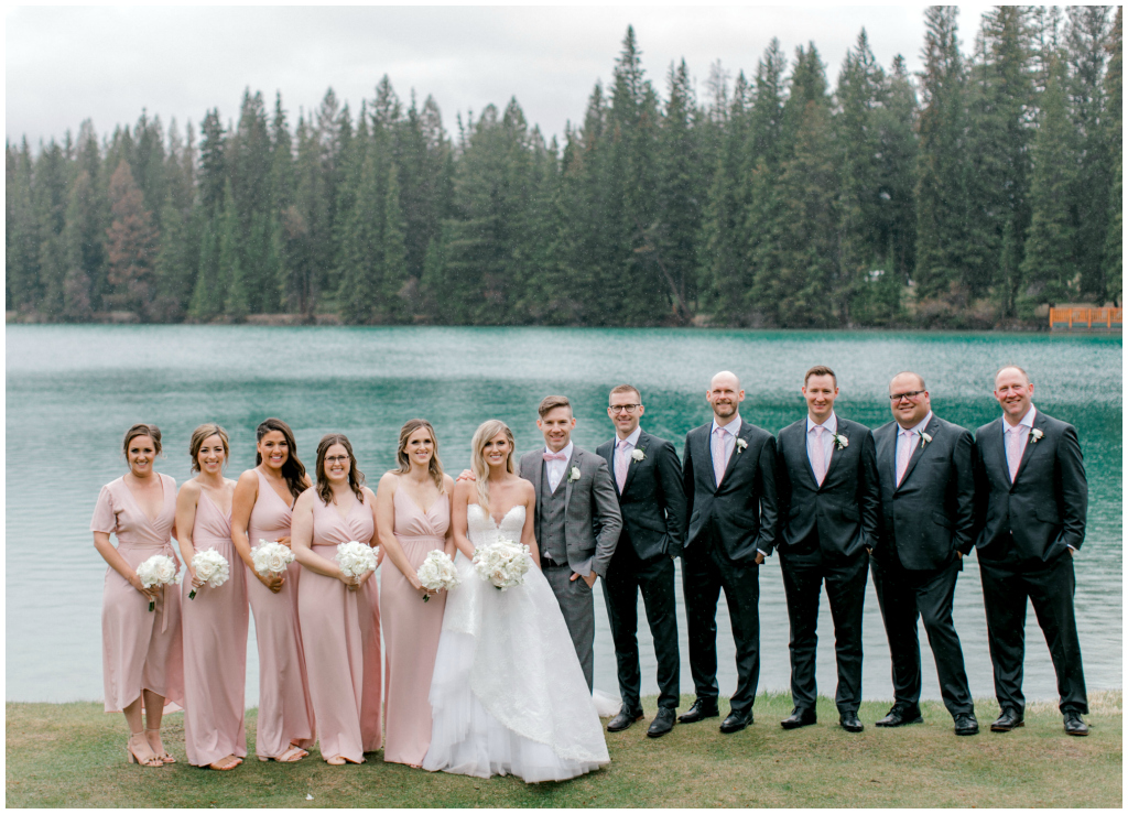 Classic Mountain Bridal Party, Jennifer Bergman Weddings
