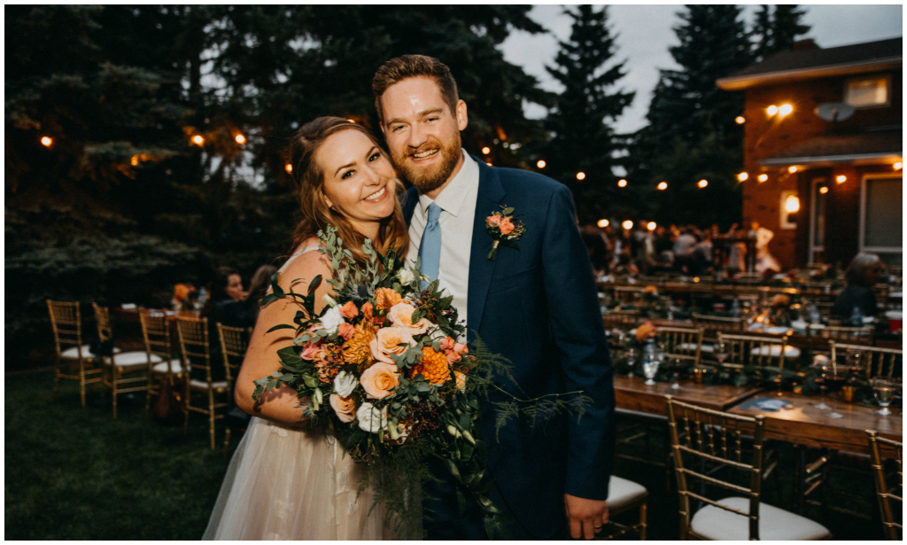 Edmonton Backyard wedding