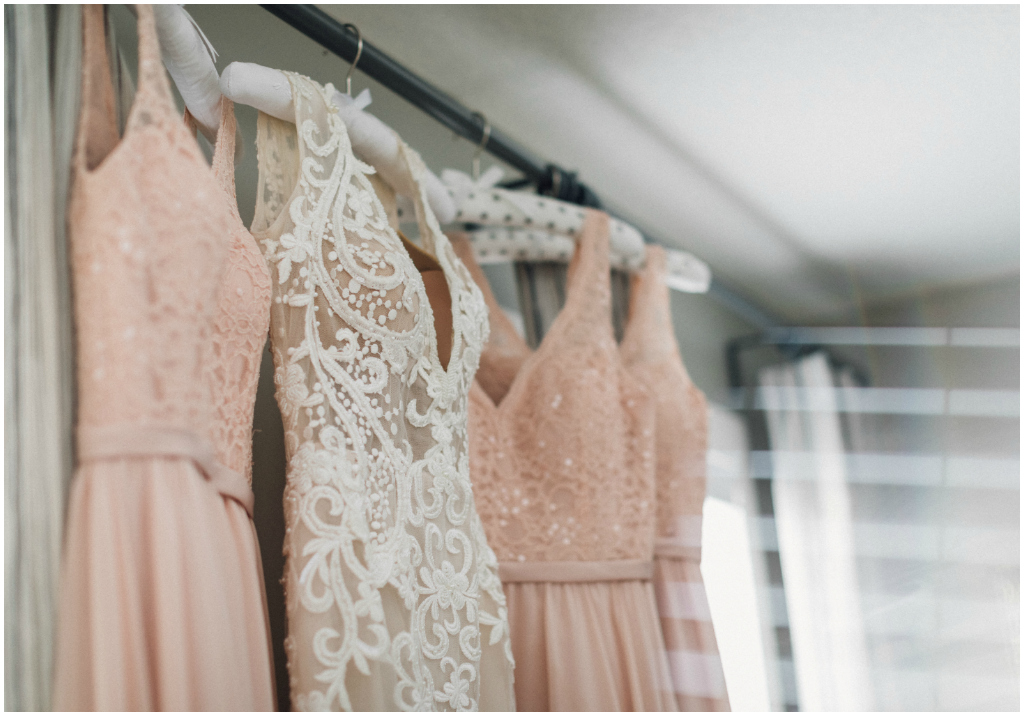 Edmonton Wedding Planning & Design, Peach Bridesmaids Dresses