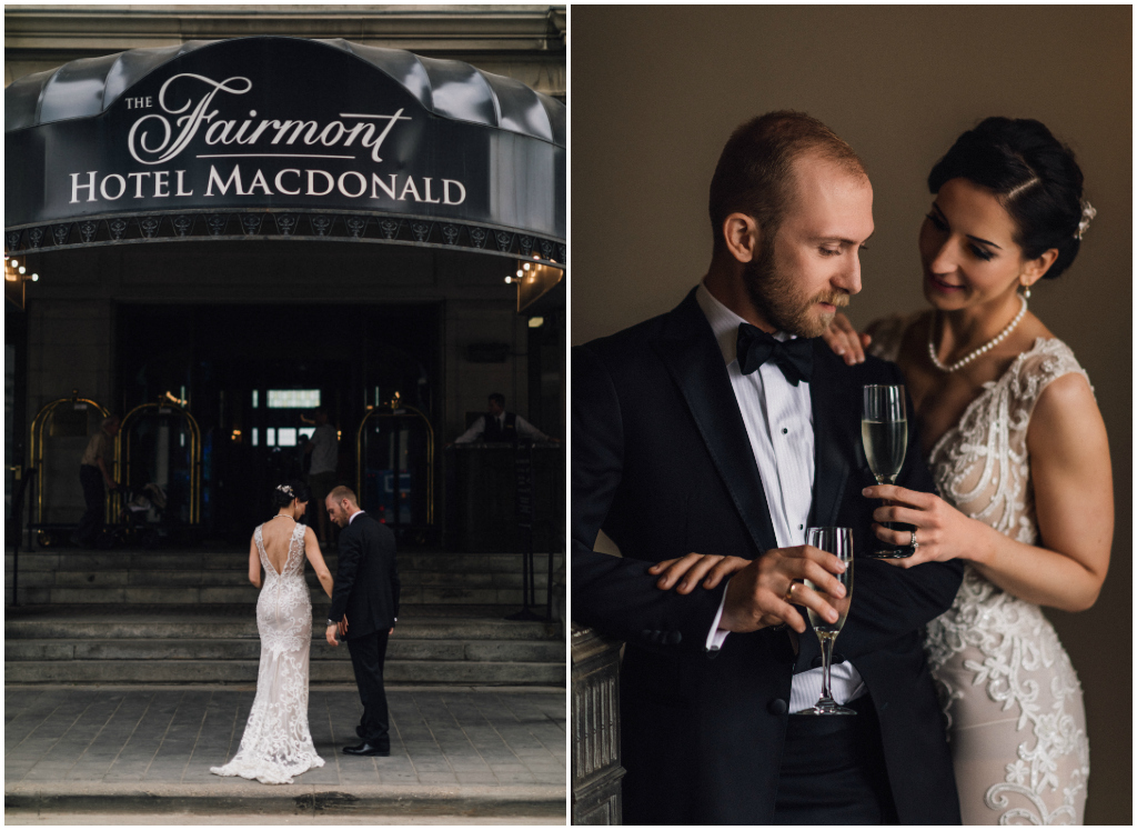 Edmonton Wedding Day Coordinator Fairmont Hotel Macdonald