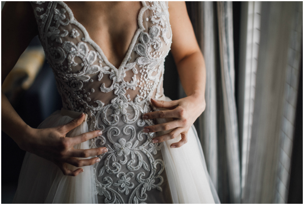 Exquisite Bridal Gown Edmonton Summer Wedding