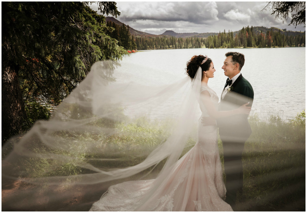 Jasper Alberta Canada Mountain Wedding