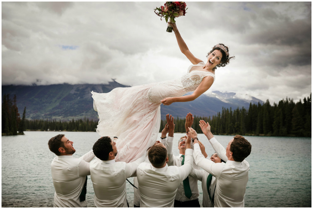 Jasper Summer Mountain Wedding