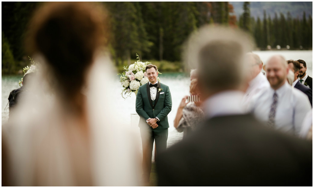 Fairmont Jasper Park Lodge Outdoor Wedding Ceremony