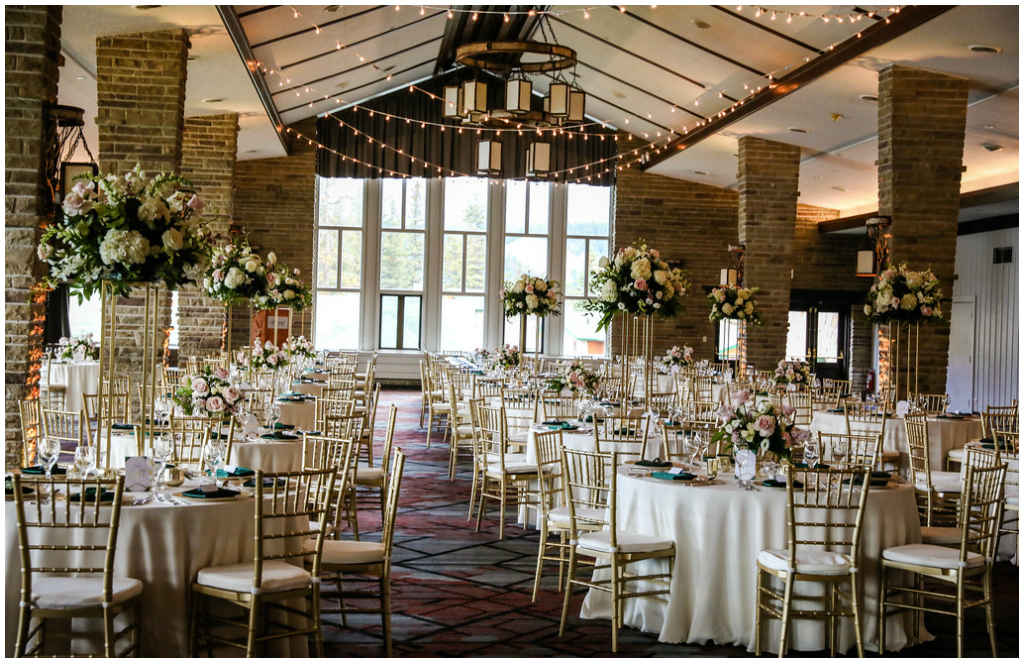 Classic Fairmont Rocky Mountain Wedding Planner