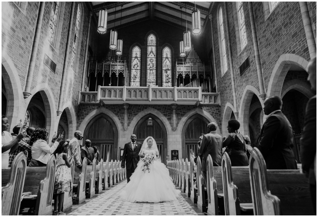 Classic Cathedral Wedding Ceremony Edmonton