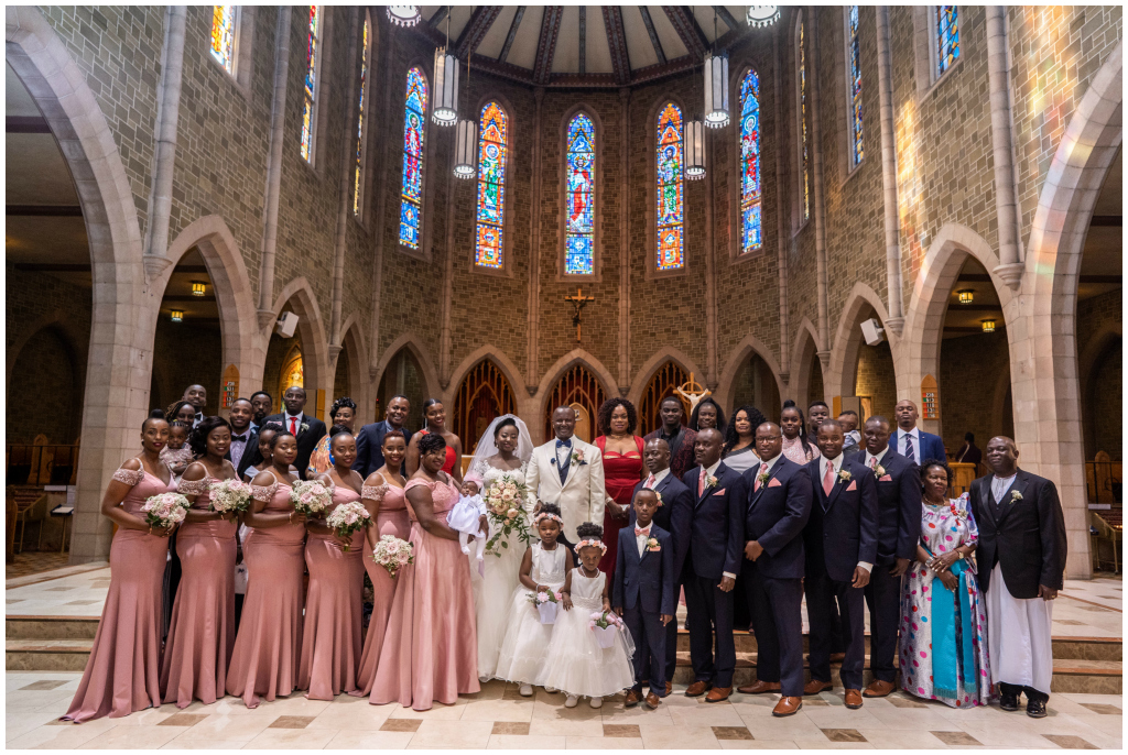 Edmonton's Most Beautiful Cathedral Wedding