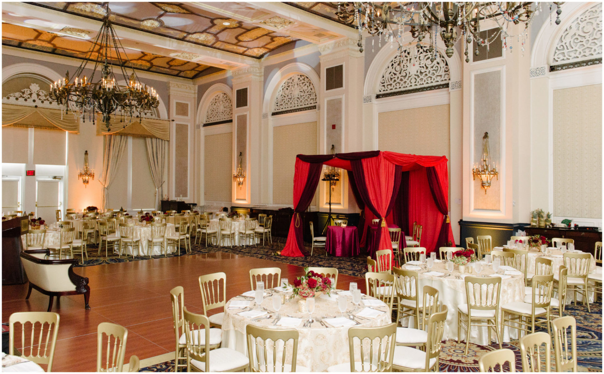fairmont hotel macdonald wedding