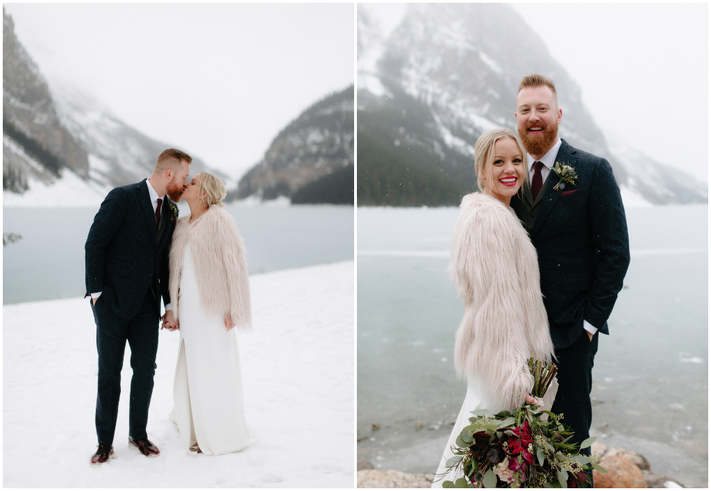 Chateau Lake Louise Winter Wedding