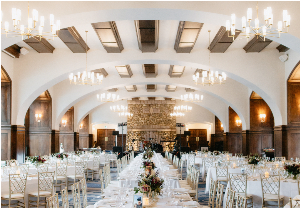 Fairmont Chateau Lake Louise Victoria Ballroom Wedding