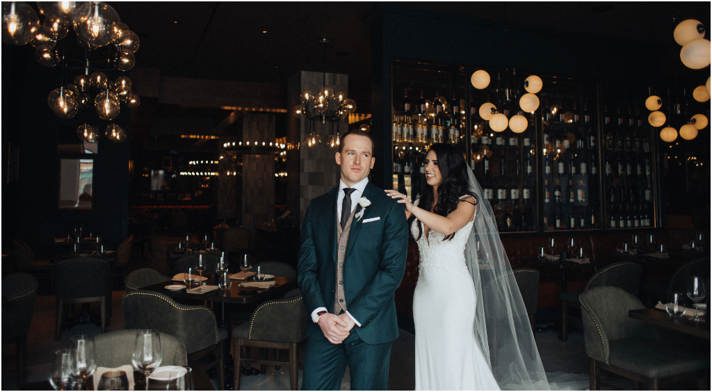 Braven Restaurant JW Marriott Edmonton Wedding